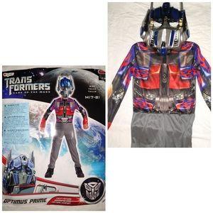 Optimus Prime Costume Blue Red Child 7 8